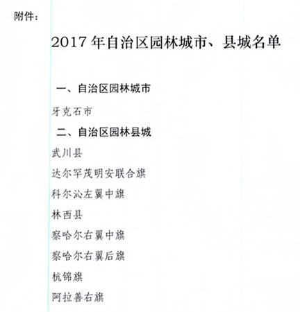 内蒙古自治区住建厅关于命名2017年自治区园林城市县城的通报_3.jpg
