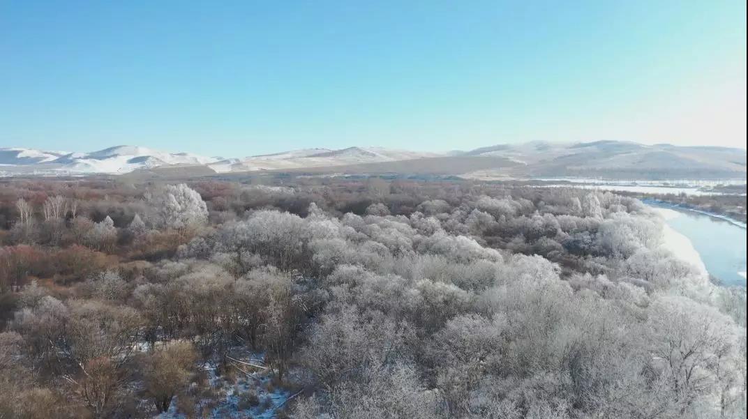 冰雪之都∞的�艋谩安�龊印�  牙克石宣��  昨天