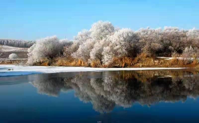 林都冬日景色